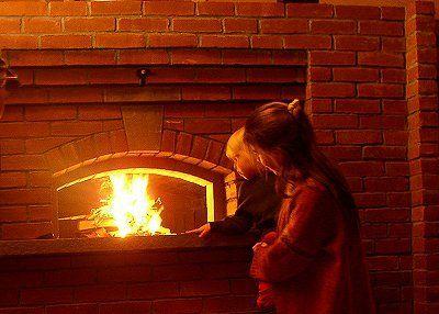 Печь хлебопекарная в минипекарню на дровах