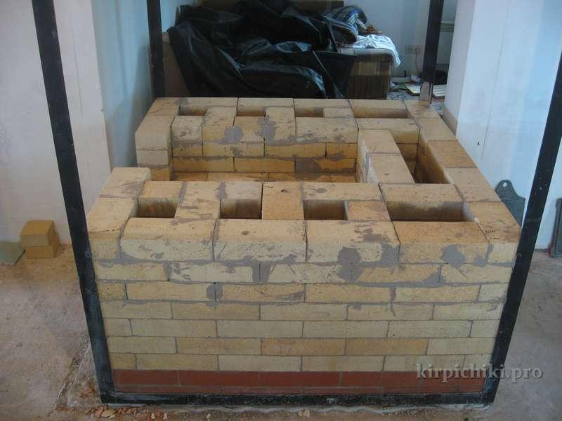 Кладка дровяных печей своими руками фото