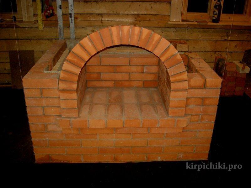 арка на печи как сделать