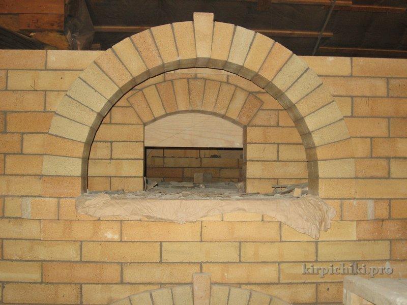 Как сделать кладку арки 453