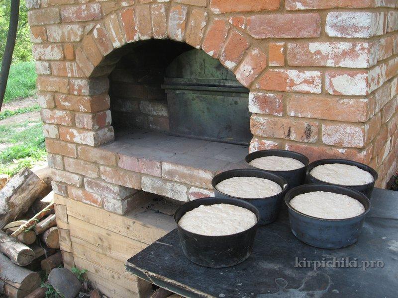 Как выложить печь для улицы