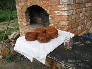 Отлично - хлеб на закваске не подгорел.