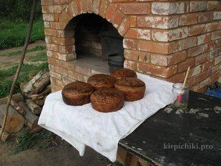 Хлеб из русской печи.