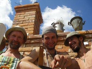 Участники проекта: Ё-Маззай, Индеец и Печник.
