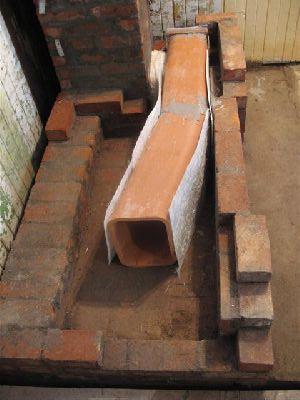 Дровяная печь плита, устройство газоходов.