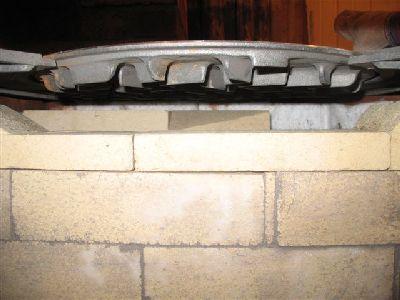 Конфорка дровяной плиты.