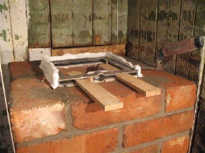 Задвижка кухонной дровяной плиты.