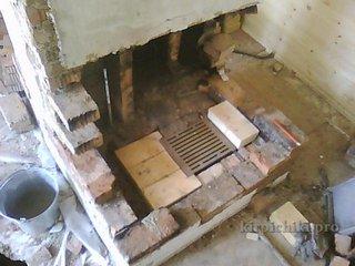 Ремонт кладки топливника печи