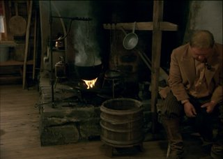 Финская печь, кадры из фильма.