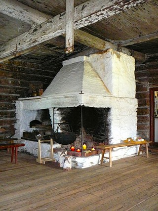 Шведская печь.